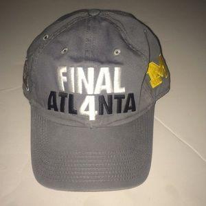 Michigan final for Atlanta gray baseball hat